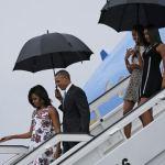 Барак Обама начал первый за 88 лет визит президента США на Кубу