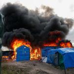 Во время демонтажа мигрантского лагеря «джунгли» во Франции произошли столкновения