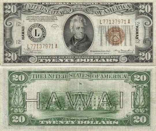 20 dollar HAWAII