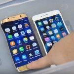 Сравнение водонепроницаемости Galaxy S7 и iPhone 6s