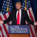 Выступление Трампа в Калифорнии было отложено из-за протестов