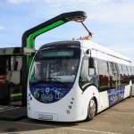 В Минске представили белорусский электробус: 12 км после 5 минут зарядки