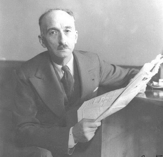 Франсуа Мориак - французский писатель; член Французской академии