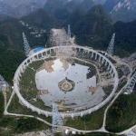 Как выглядит строительство крупнейшего в мире радиотелескопа?