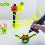 3D-ручка, использующая остатки пластиковых бутылок