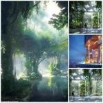 В Дубае планируется открытие первого в мире отеля с собственным тропическим лесом