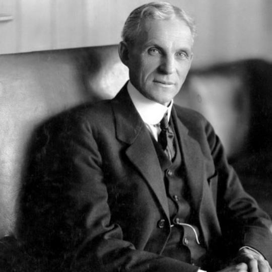 Генри Форд - американский промышленник, владелец заводов по производству автомобилей