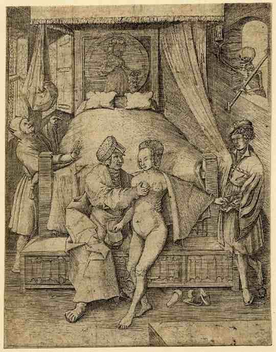 В средние века в Западной Европе в качестве наказания прелюбодеев не утвердилась византийская норма