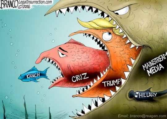 Ужас выборов «Клинтон против Трампа» малость ошарашивает любого, кто обращает на них внимание.