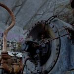 Прогулка ночью по заброшенной АЭС (видео)