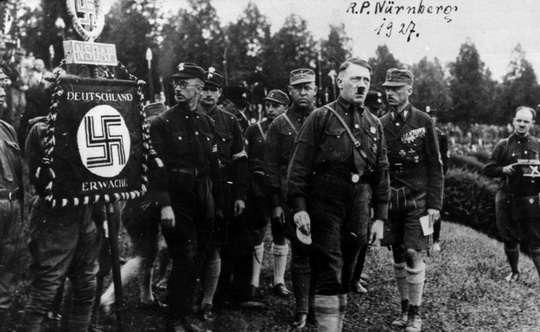 В феврале 1920 года путем переименования Немецкой рабочей партии (ДАП) Национал-социалистическая германская рабочая партия (НСДАП).