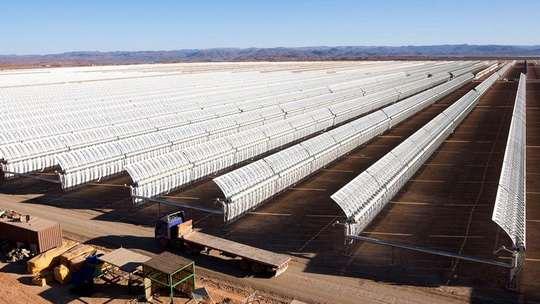 Марокко строит гигантскую солнечную ферму