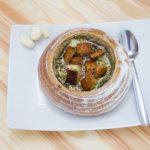 Чешский чесночный суп (Чеснечка)