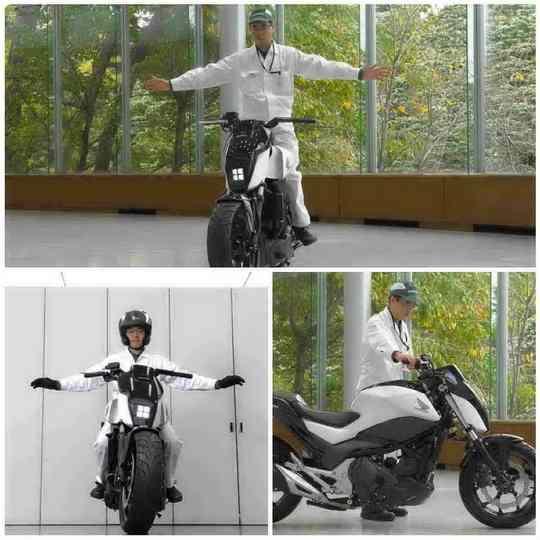 На открывшейся в начале января традиционной выставке бытовой электроники CES 2017 японский автогигант Honda представил необычный самобалансирующийся мотоцикл