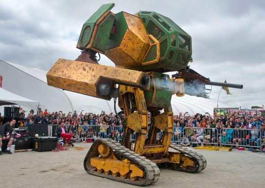 Гигантский робот-боевик может стать шеф-поваром