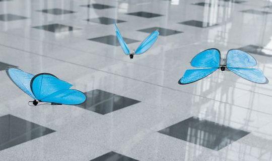 Немецкая компания Festo, специализирующаяся на выпуске роботизированных систем, представила серию летающих роботов-животных