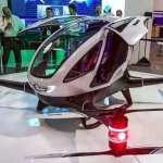 Дубай: летающие такси-беспилотники появятся уже этим летом