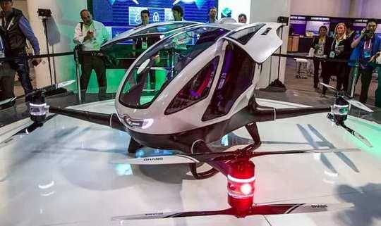 Новый объект интереса властей эмирата – летающий робот-такси Ehang 184