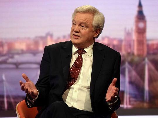 Дэвид Дэвис заявил, что страна выйдет из состава Евросоюза в марте 2019 года.