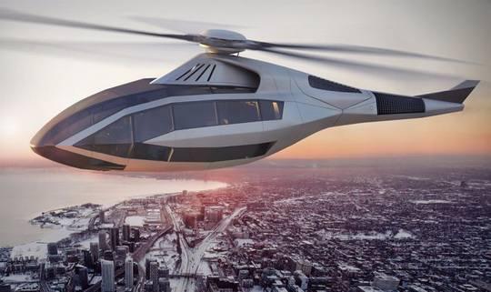 Bell Helicopter представила концепцию вертолета будущего, также известного как проект FCX-001