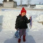 4-летняя девочка прошла 8 км по тайге за помощью родственникам