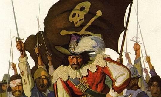 Пирата Робертса Бартоломью многие историки считают более выдающимся, чем Черная Борода или Энн Бонни.