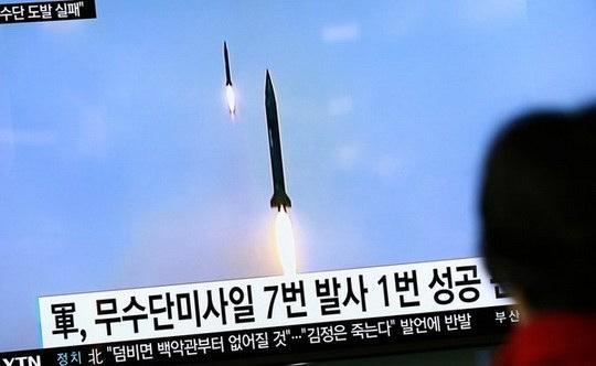 """В МИД Китая, комментируя недавние угрозы КНДР о намерении продолжать ракетные испытания, заявили, что выражают """"серьезную обеспокоенность""""."""