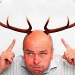 Растут ли на вашей голове ветвистые рога?
