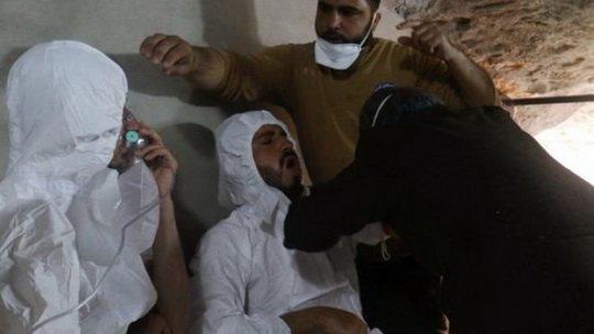 Российские власти причастны к сокрытию последствий химической атаки в сирийской провинции Идлиб