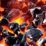 Почему угольки светятся?