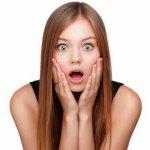 Почему от удивления человек округляет глаза и открывает рот?