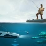 PowerRay: рыболовный дрон из Китая