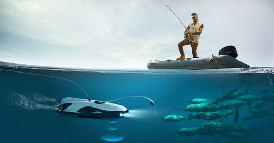 Ну какому фанату рыбной ловли не понравится беспилотный подводный дрон для поиска рыбы