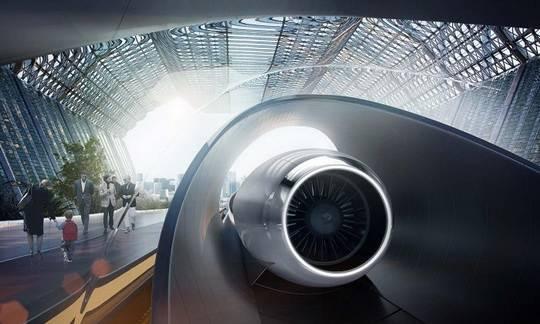Компания Hyperloop One завершила постройку первой тестовой трассы для поезда Hyperloop