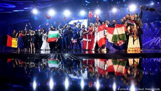 """На """"Евровидении-2017"""" после второго порлуфинала определились имена всех участников заключительного этапа песенного конкурса."""