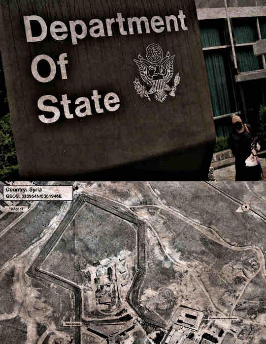 Соединенные Штаты в понедельник обвинили Сирию в казнях тысяч политических заключенных, тела которых впоследствии сжигались в крематории, чтобы скрыть масштабы массовых убийств.