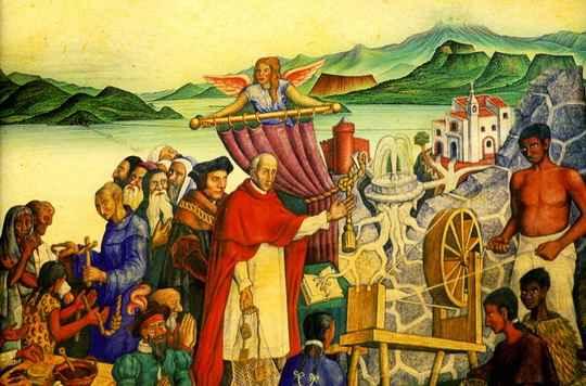 В XVI веке в связи с открытием Америки в среде испанских религиозных деятелей зарождается множество Утопий.