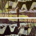 Почему картина Гогена «Бретонская деревня в снегу» была продана под названием «Ниагарский водопад»?