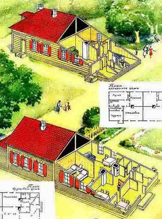 После окончания ВОВ у советского государства не было денег на жилищное строительство, и ему пришлось пойти в этой сфере на некоторую демократизацию.