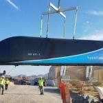 Опубликовано первое видео тестирования Hyperloop One
