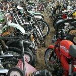 Американское кладбище старых мотоциклов