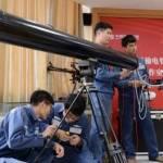В Китае учатся убирать мусор с ЛЭП лазерной пушкой
