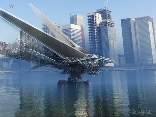 Проект создания мостовой переправы через один из притоков крупнейшей азиатской реки Хуанхэ, заказали английскому дизайнеру и архитектору Марго Красоевичу