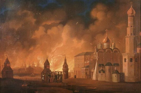 Поначалу солдатам и офицерам «Великой Армии» казалось, что русские не понимают происходящего или пытаются игнорировать сам факт того, что их старая столица пала.