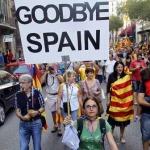 По всей Испании прошли митинги за референдум о независимости Каталонии