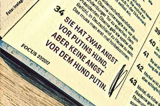Посольство России в Германии потребовало извинений от главного редактора немецкого журнала Focus Роберта Шнайдера