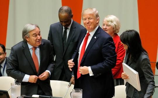 Президент США заявил о необходимости реформировать ООН и оптимизировать расходы организации.