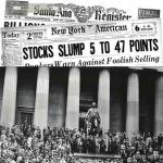 Внезапно бедность: чёрный четверг на Уолл-Стрит