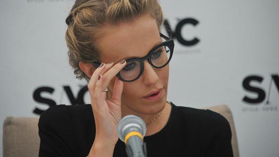 Ксения Собчак объявила о своем решении принять участие в выборах в среду,