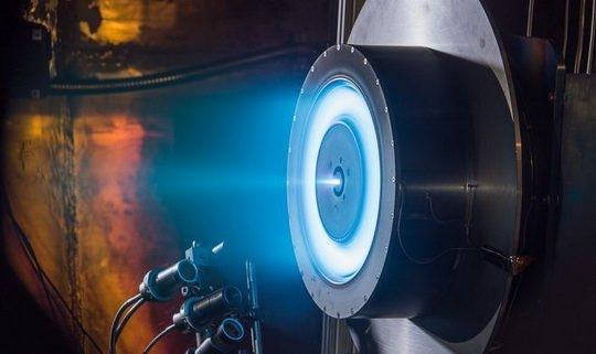 Х3 – это ионный двигатель, разработанный в университете штата Мичиган. Возможно, именно он поможет нам в ближайшие 20 лет долететь до Марса.